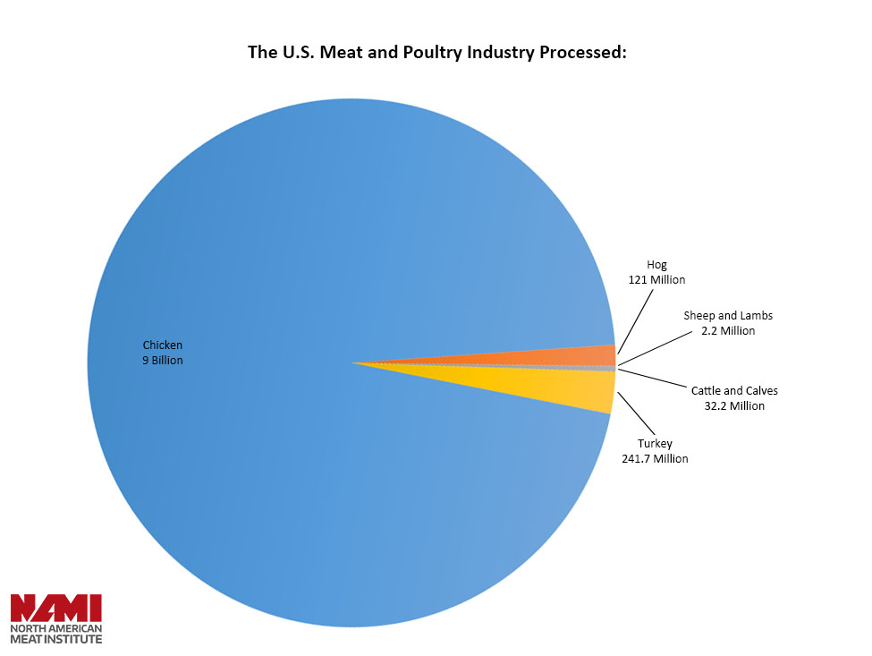 The United States Meat Industry at a Glance