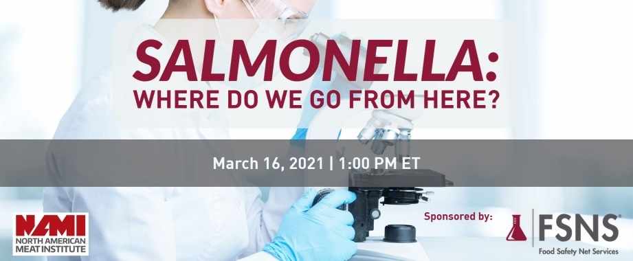 Salmonella: Where Do We Go From Here?