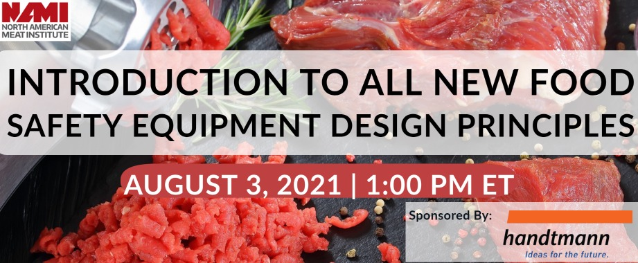 Introduction To All New Food Safety Equipment Design Principals